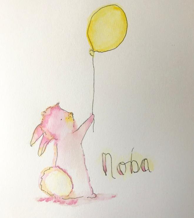 Noba Bunny painted by Shan Bae