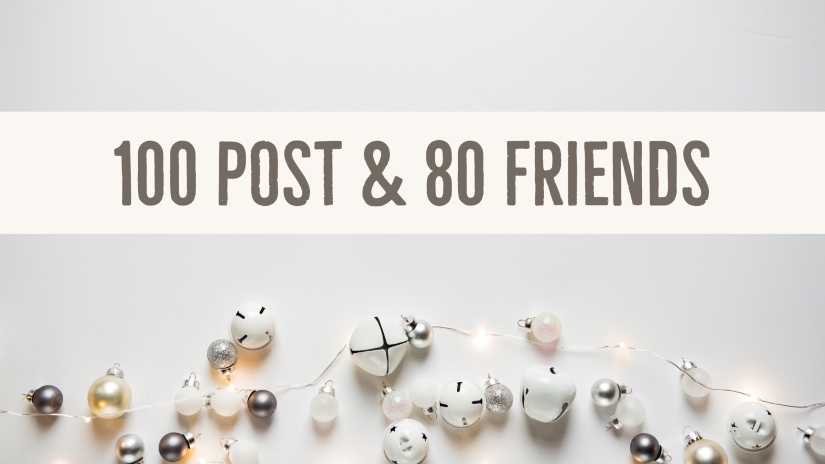 100 Post and 80 Friends