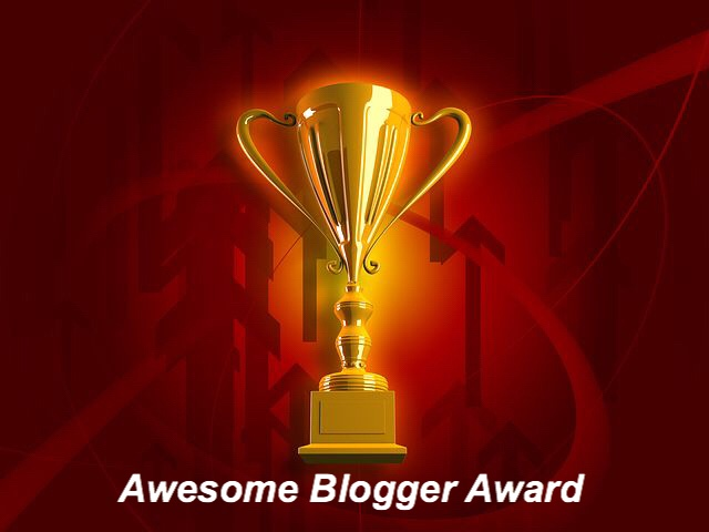 The Awesome Blogger Award Nomination