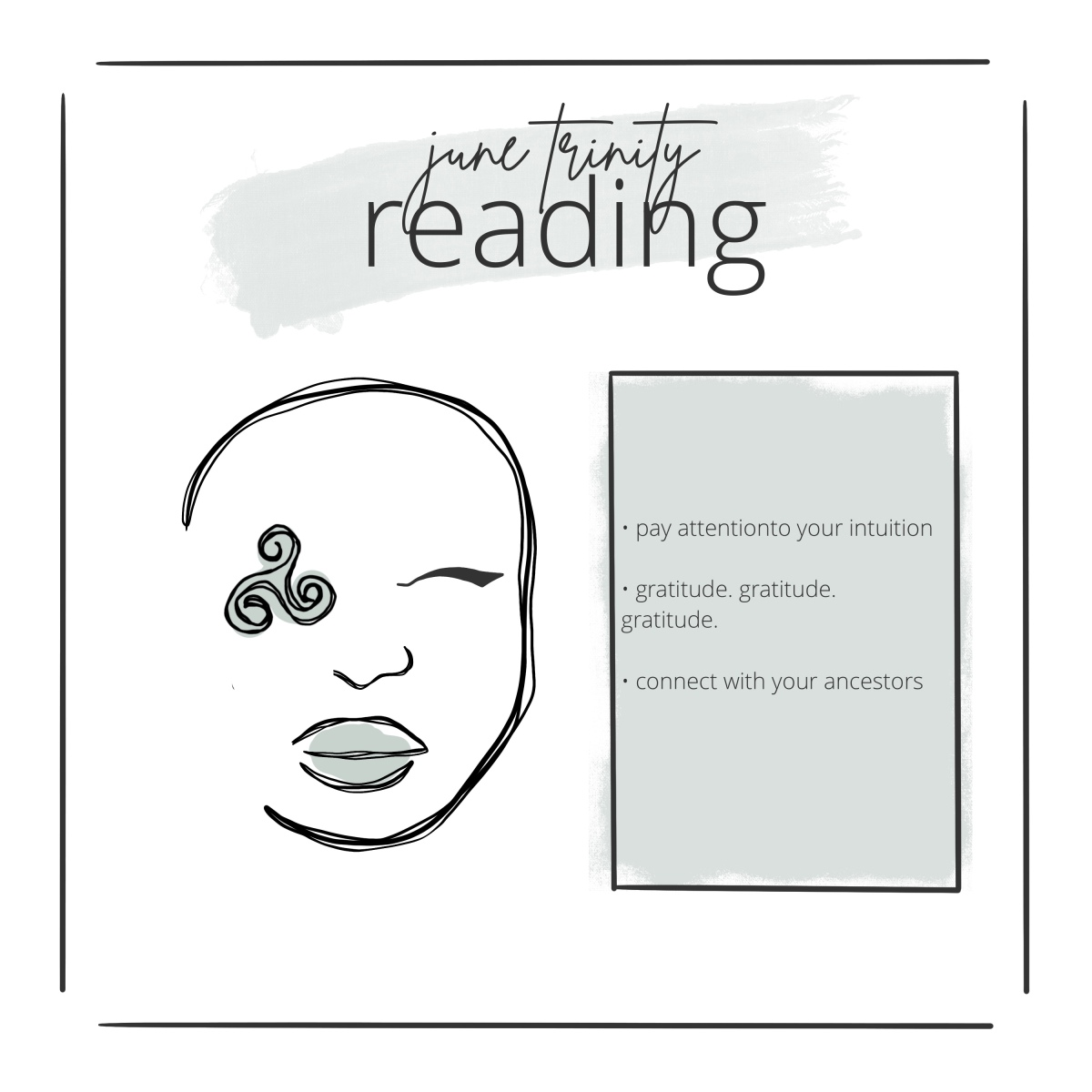 june trinity reading overview by shan bae