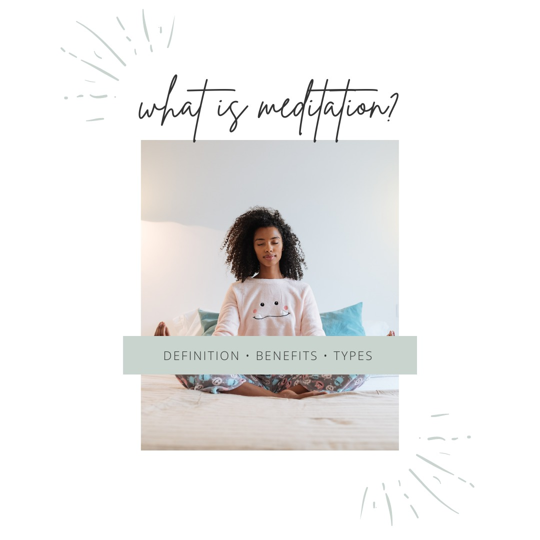 what is meditation blog header