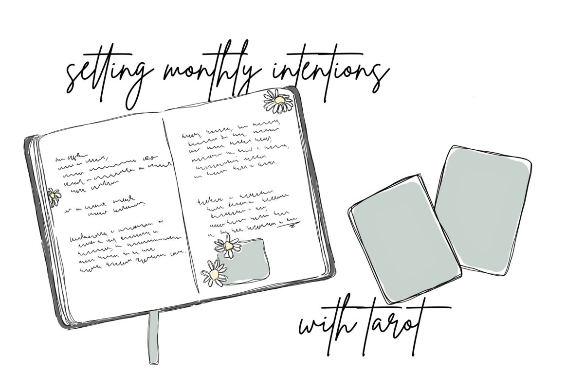 setting monthly intentions with tarot by shan bae