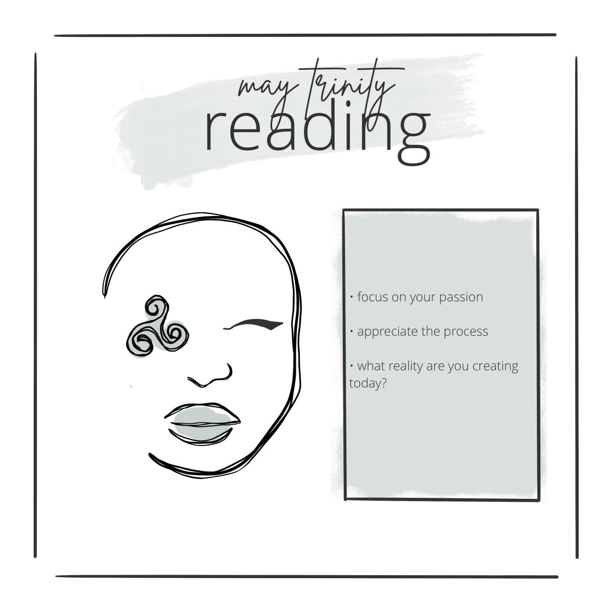 may trinity reading card